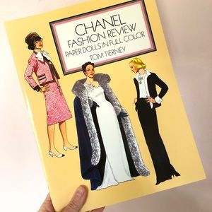 Vintage CHANEL Fashion Review Paper Dolls NEW 2000